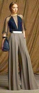 tutorial para transformar una falda larga en un pantalón palazzo
