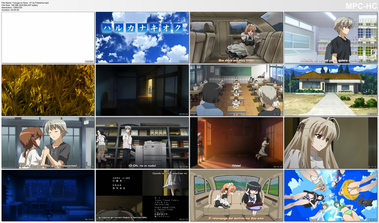Capturas de Yosuga no Sora