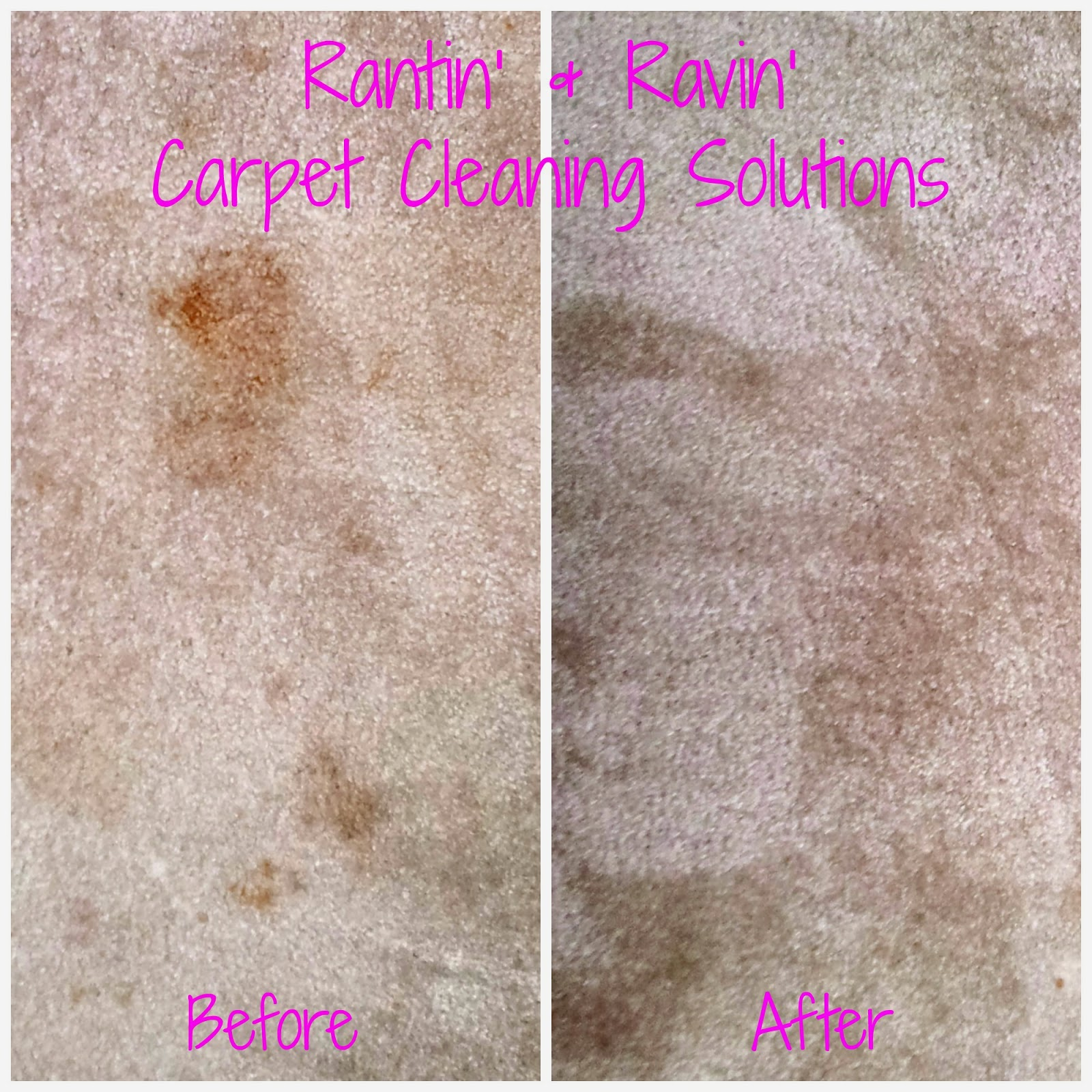 Rantin' & Ravin': CARPET CLEANING!!!