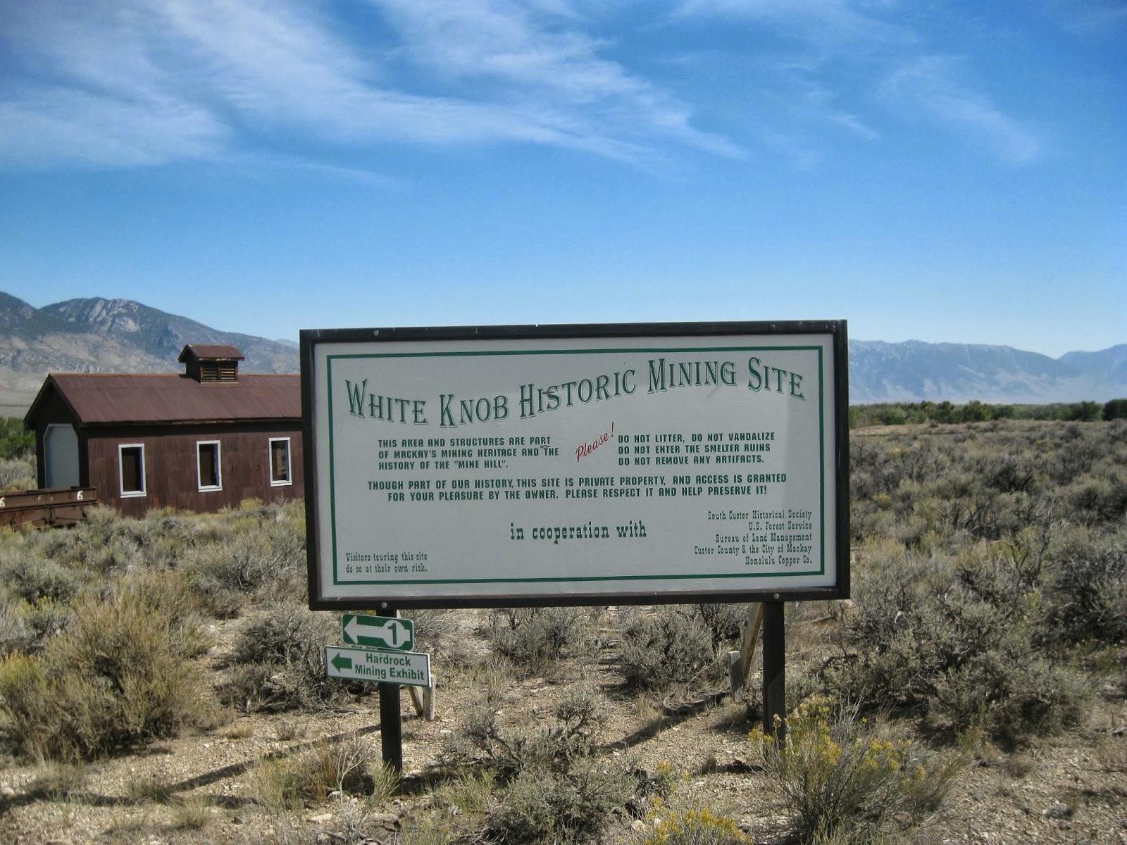 Wind Songs: White Knob Mining Site (Mackay ID) - Part 1
