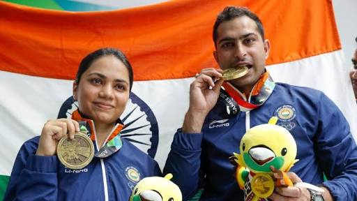 Asian Games 2018 - Shooters Apurvi, Ravi win India's first medal with bronze medal