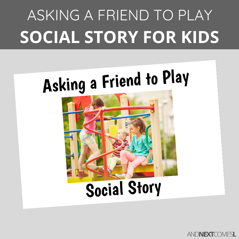 Nerdy image within social story printable