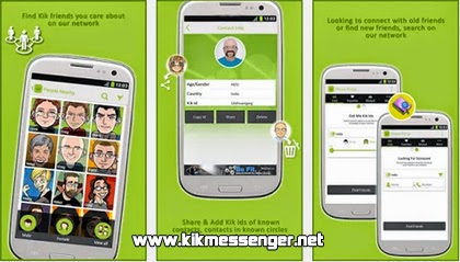 Busca muchos Kik ID con el buscador de Kik Pinup Find Friends gratis
