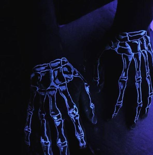 glowing in the dark tattoos