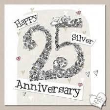 25th wedding anniversary