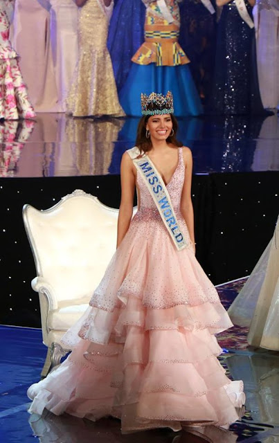 Puerto Rico's Stephanie Del Valle was crowned Miss World 2016 edition of the Miss World beauty pageant.