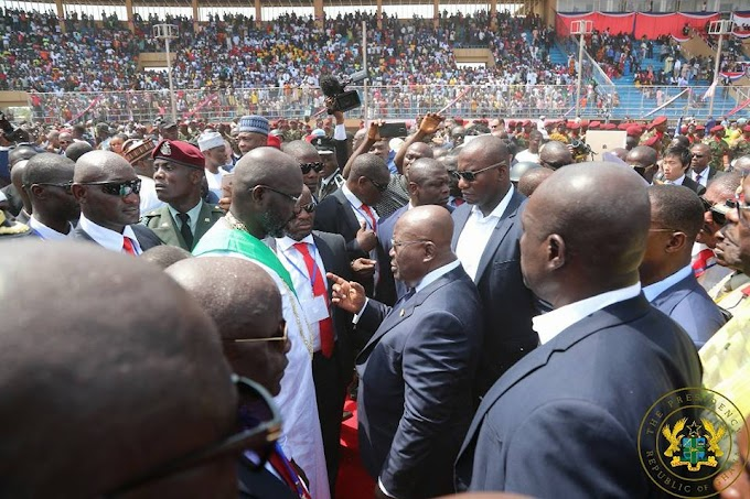 President Weah's Inauguration, A Good Day For West Africa – President Akufo-Addo