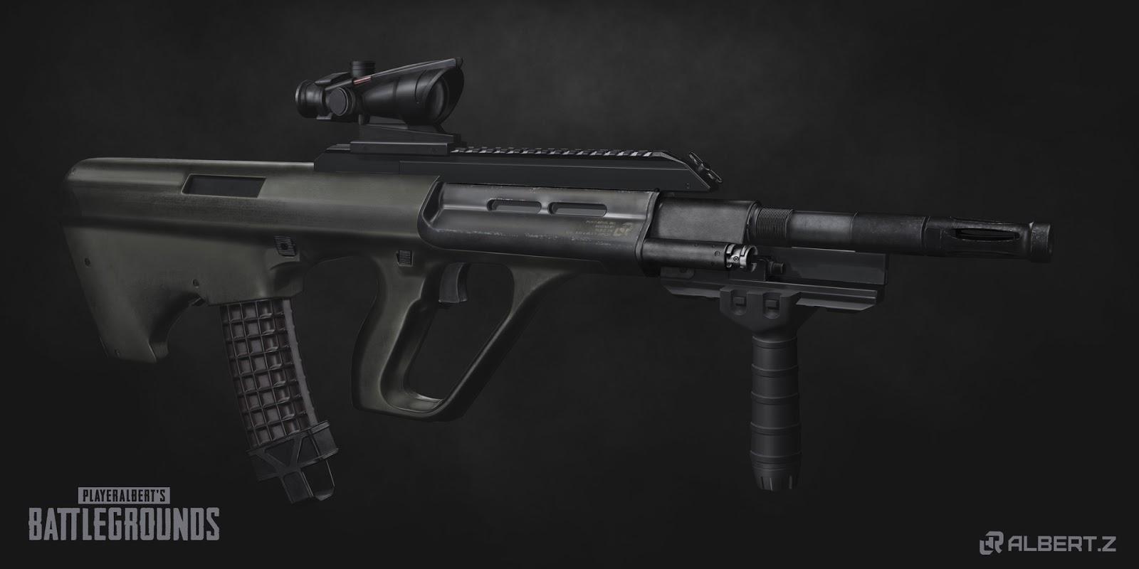 سلاح ببجي aug a3