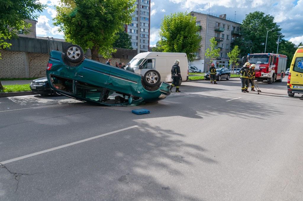 avārija Jelgavā 4