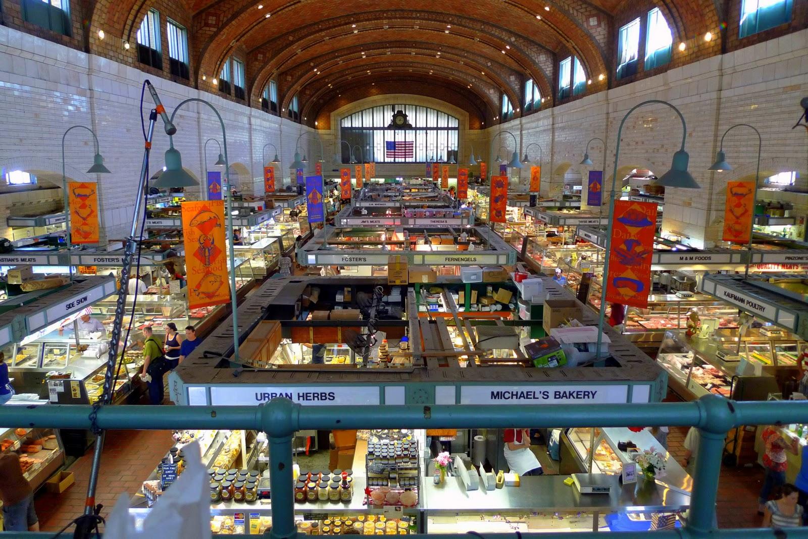 Cleveland Restaurants Near West Side Market