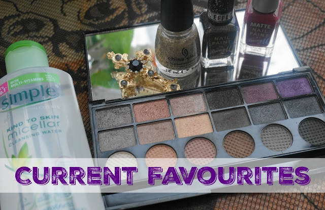 CURRENT FAVES BARRY M CHINA GLAZE SIMPLE MAKEUP REVOLUTION