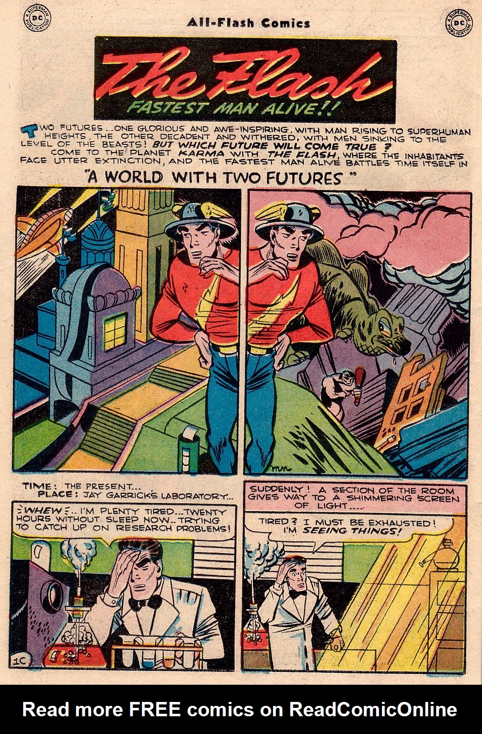 Read online All-Flash comic -  Issue #23 - 37