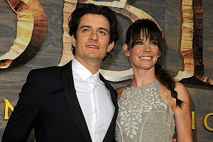 film: Evangeline Lilly, Orlando Bloom and others at the premiere of The Hobbit: Smaug Wasteland