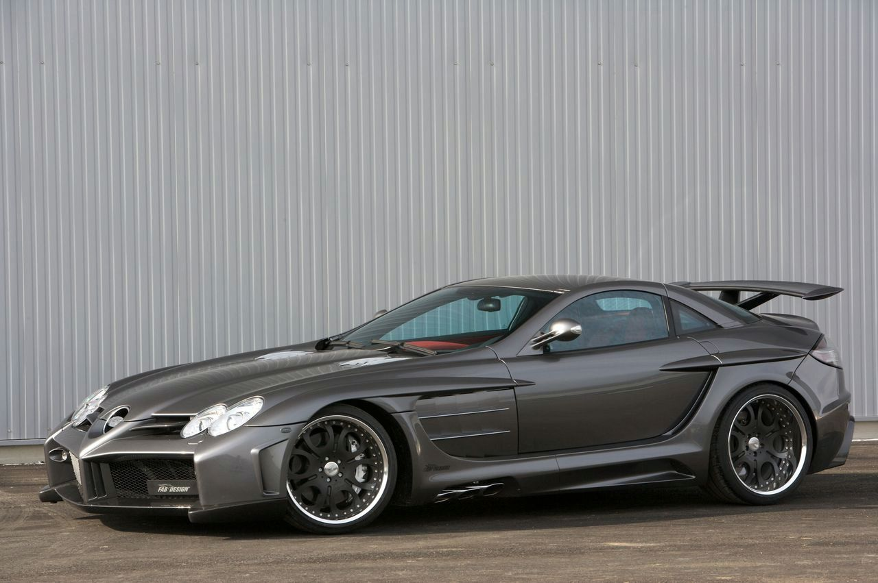 World Of Cars Mercedes Slr Mclaren