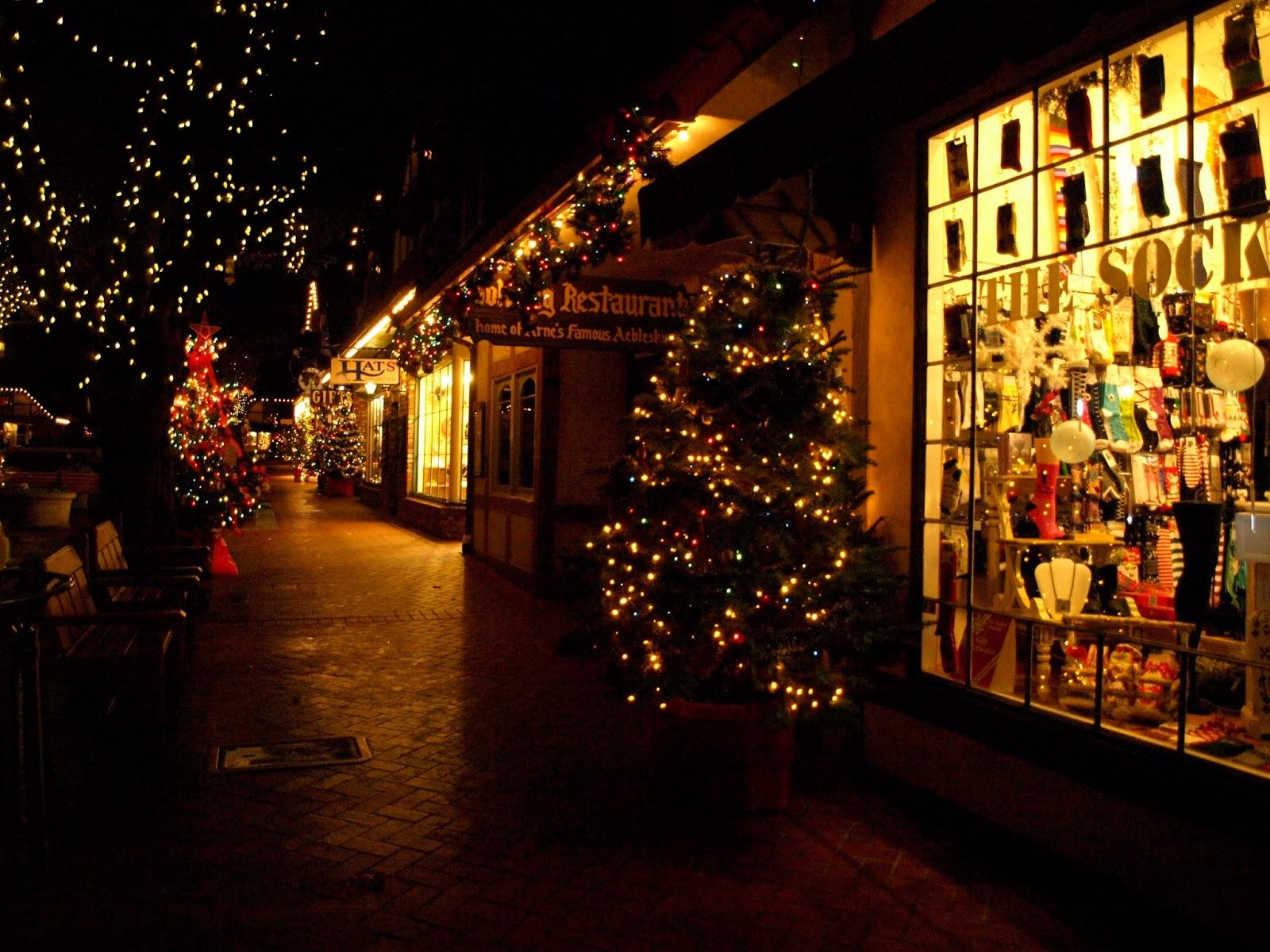 Image result for solvang christmas lights