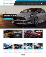 Giao diện blogspot bán ô tô đẹp