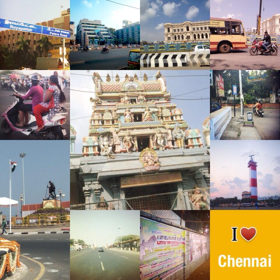 Indivue tweettaa Chennaista
