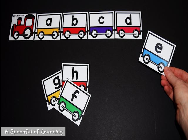 Alphabet Center Activities 4