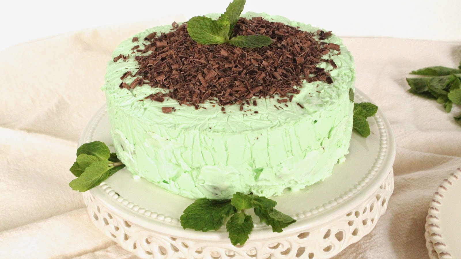 Mini Mint Chocolate Icebox Cake