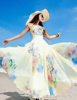 Vestidos de Playa, Diseños Modernos