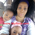 MPNAIJA GIST:Actress Oby Edozien shares adorable photo with her children