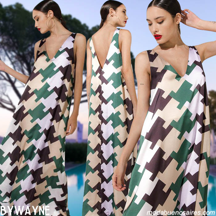 Vestidos invierno 2019 ropa de mujer. Moda invierno 2019 argentina.