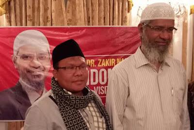 DR. Zakir Naik ke indonesia