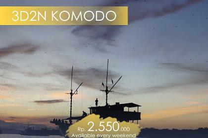 Program Paket Tour Wisata Komodo Labuan Bajo 2019