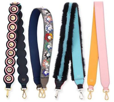 Fendi Strap You: alguns modelos de alças para você customizar sua bolsa.