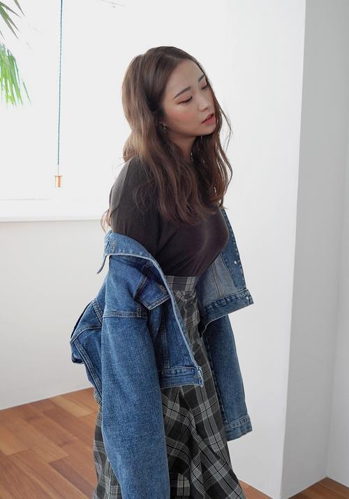 Extended Sleeve Denim Jacket