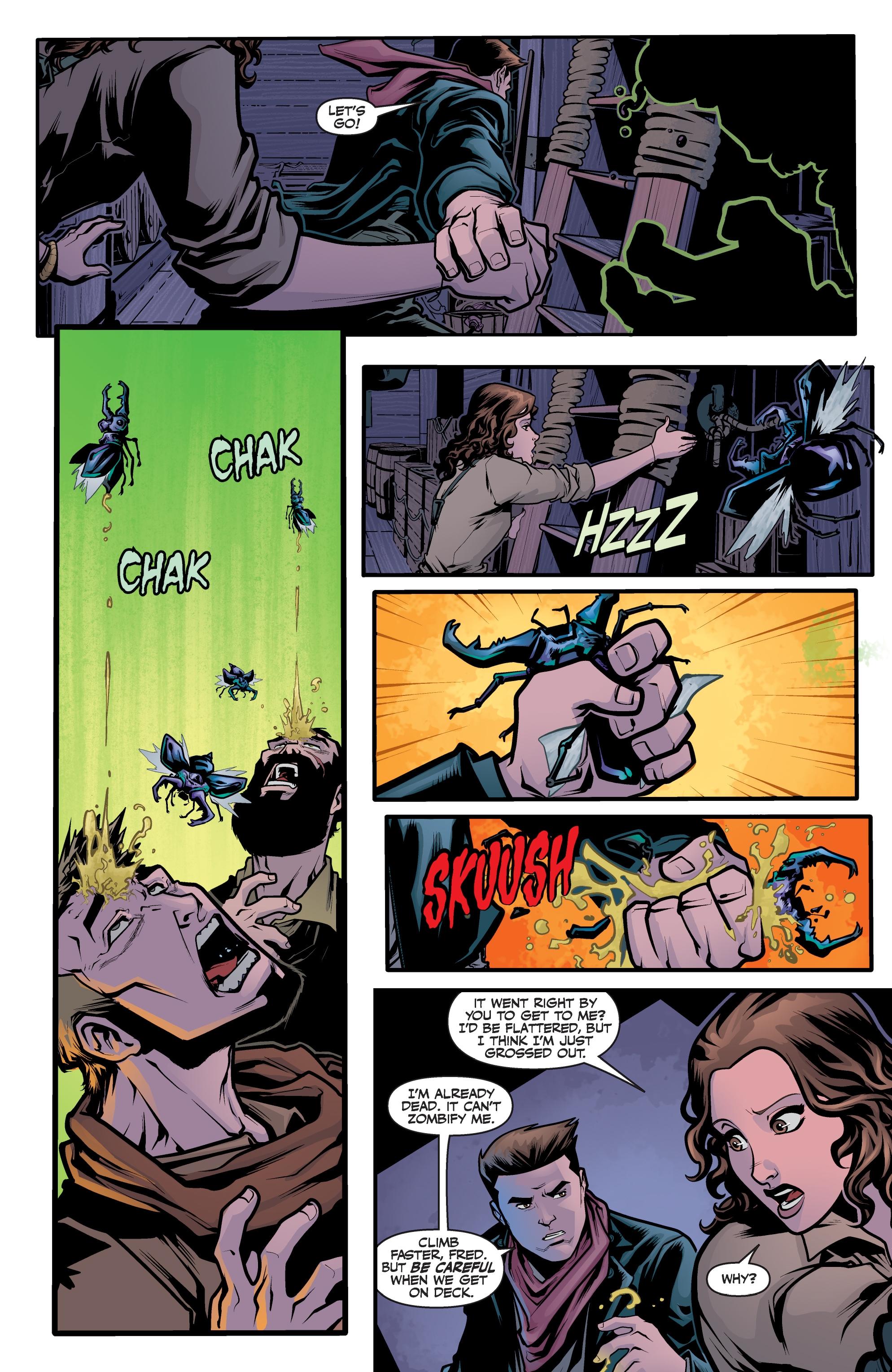 Read online Angel Season 11 comic -  Issue #6 - 16
