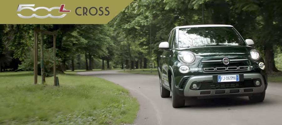 Canzone Fiat Pubblicità promo nuova 500L CROSS, Spot Novembre 2017