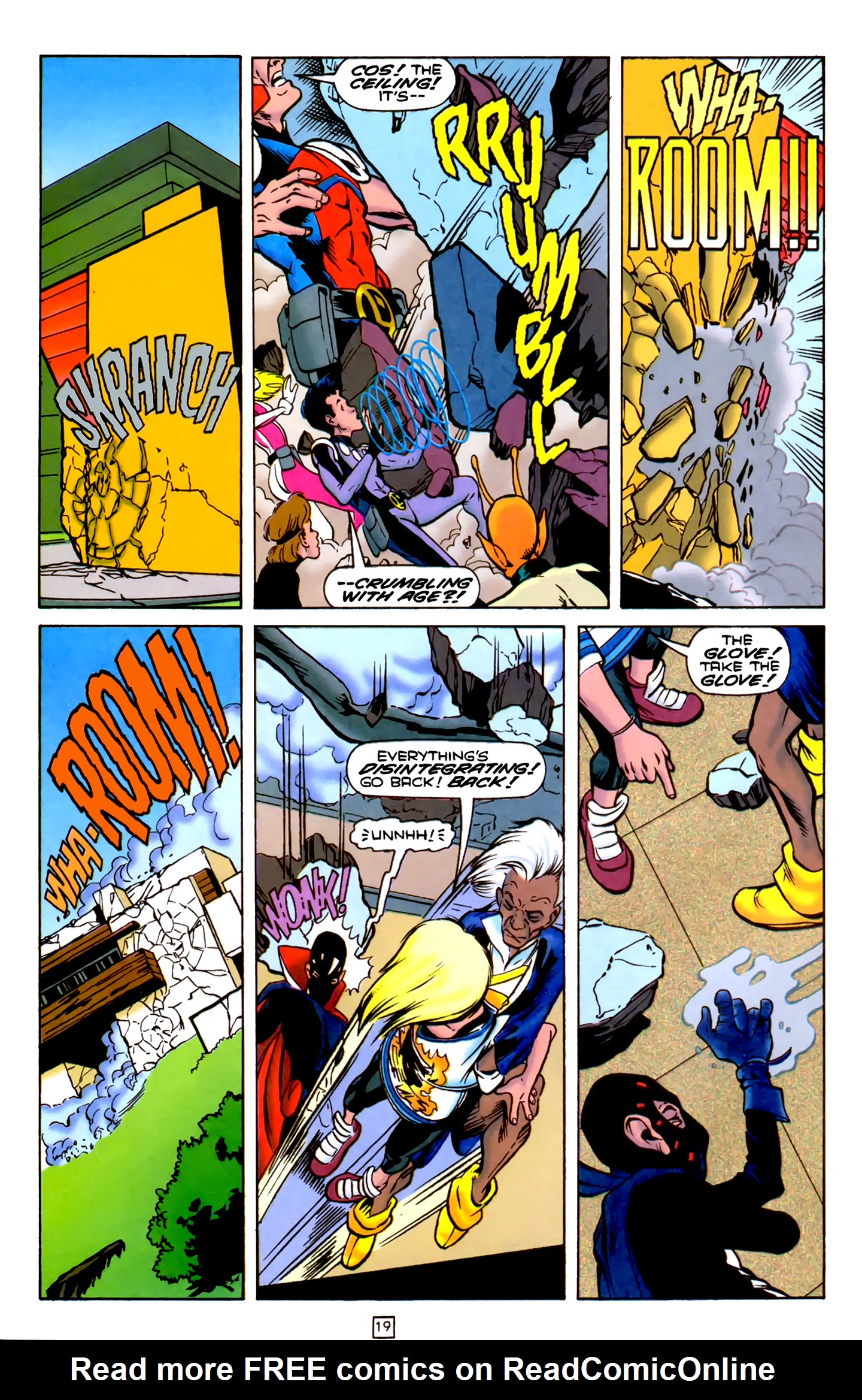 Legion of Super-Heroes (1989) 75 Page 19