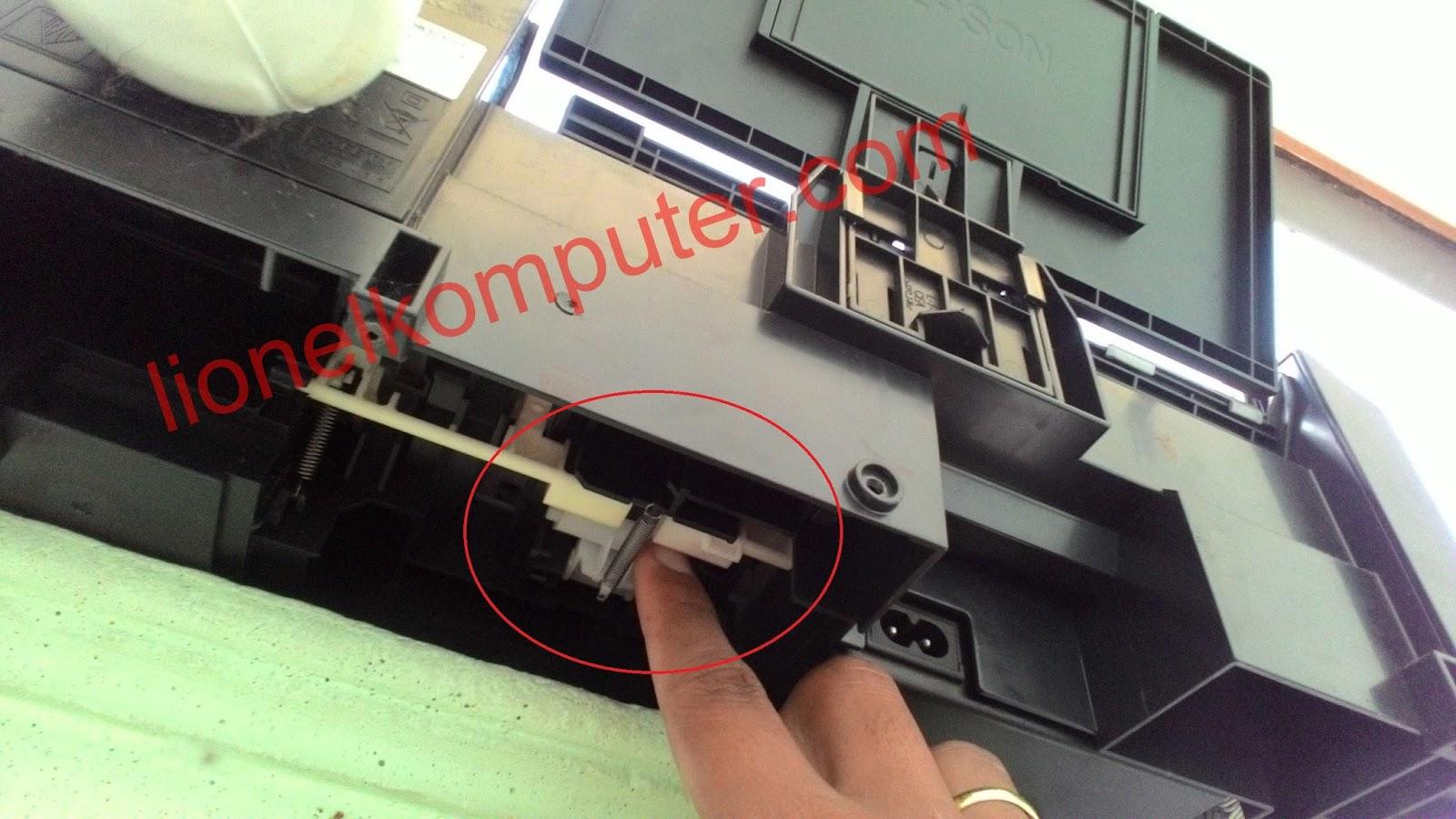 Cara Memperbaiki Printer Epson L120 L220 Menarik Kertas Terlalu Banyak