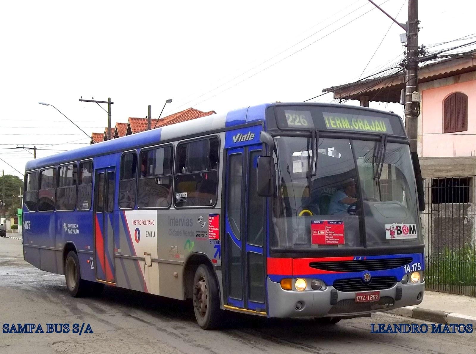 Sampa Bus S A Urbanos Emtu