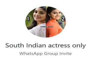 South Indian Actress WhatsApp Group Link Of 2018