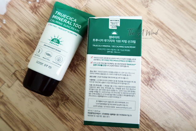 Review Some by Mi Truecica Mineral 100 Calming Sunscreen