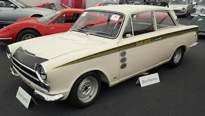 1965 Ford Lotus Cortina MkI Competition Saloon