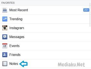 Membuat Catatan Di Facebook Lewat HP Android
