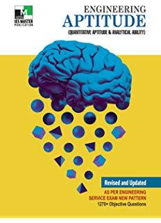 Free Download IES MASTER Engineering Aptitude Book Pdf - MYEBOOK IN