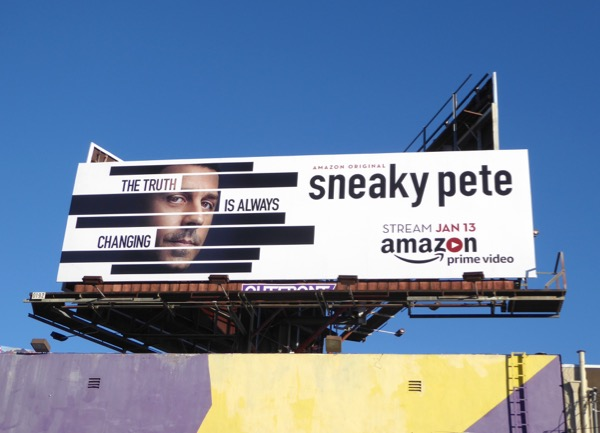 Sneaky Pete series premiere billboard
