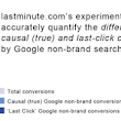 finds that traditional conversion tracking significantly undervalues non-brand search - Analytics Blog