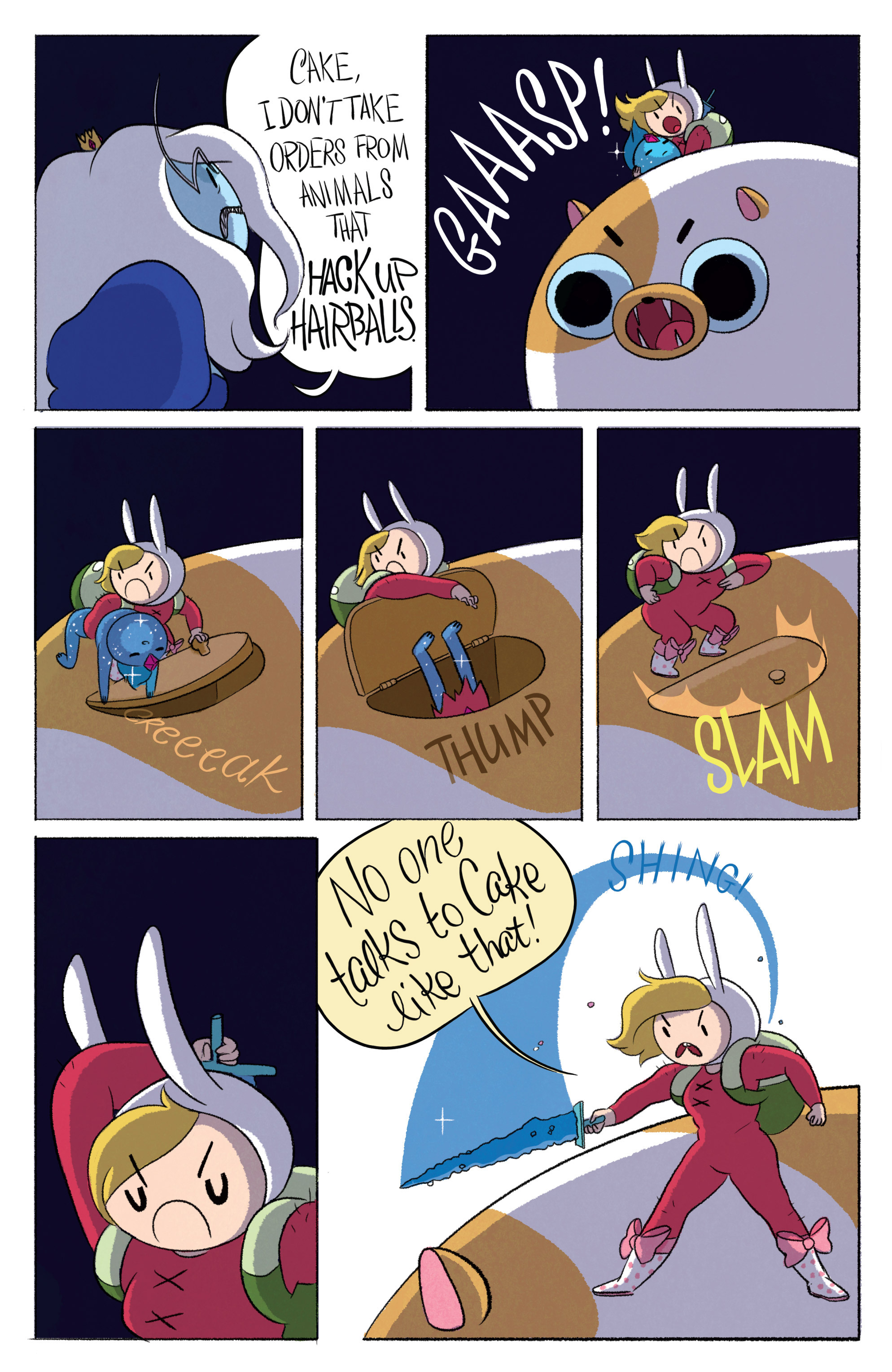 Read online Adventure Time with Fionna & Cake comic -  Issue #2 - 7