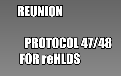 Download - reunion 0.1.0.92d | 0.1.0.137 (reHLDS) Última versão.