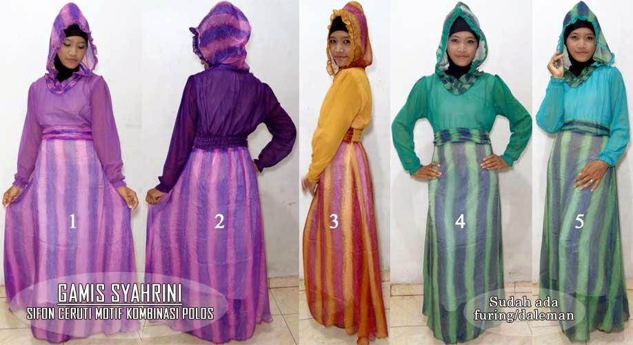 Baju Gamis Syahrini Online Hijab Nemo