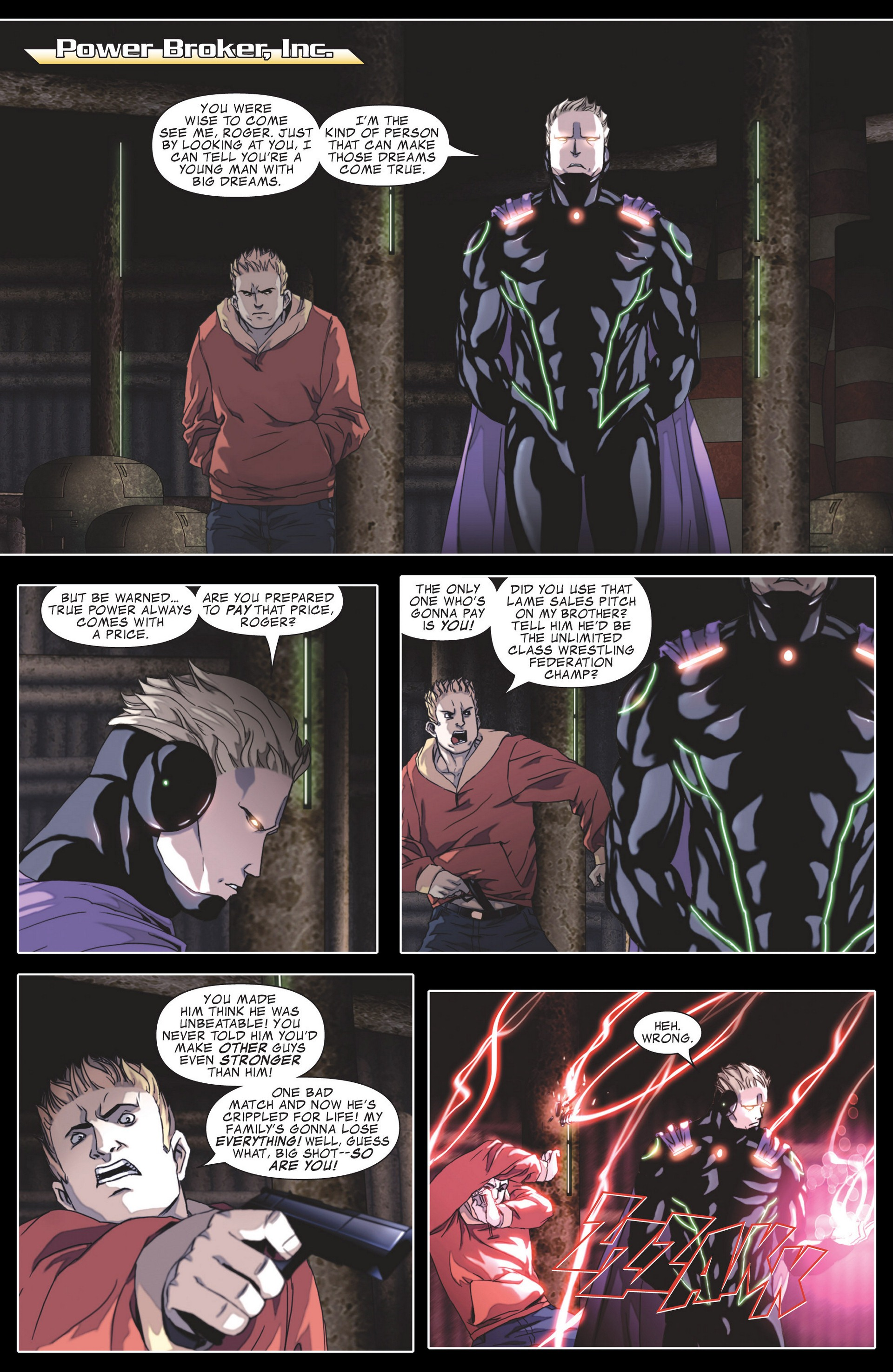 Read online Secret Invasion: The Infiltration comic -  Issue #4 - 20