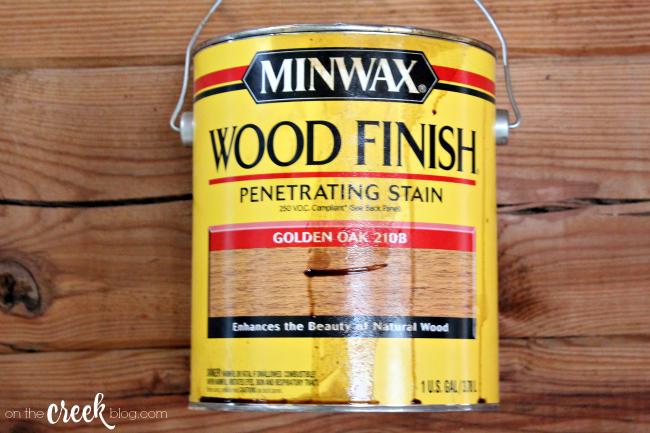 minwax wood finish golden oak stain
