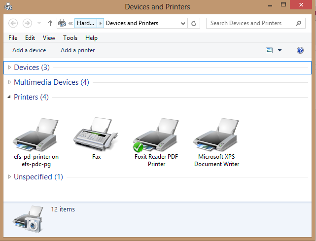 If You Dont Know How To Open That Just Go The Control Panel And Youll Find Devices Printers Applet