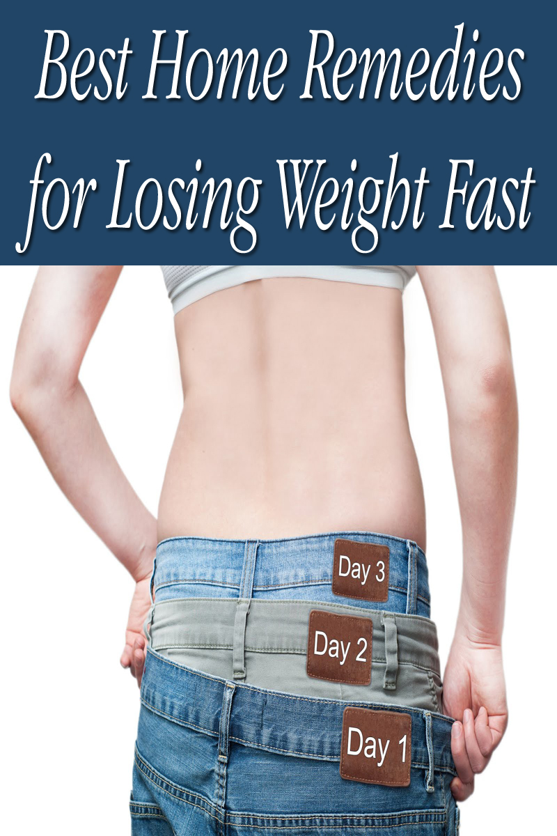 Best Home Remedies for Losing Weight Fast