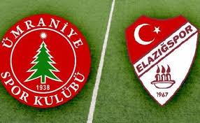 Elazığspor - Ümraniyespor Canli Maç İzle 02 Mart 2018